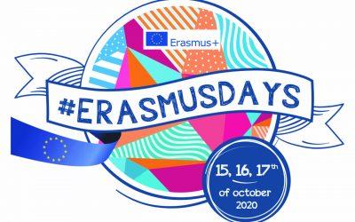 BSdV participates in the Erasmus Days, October 2020.